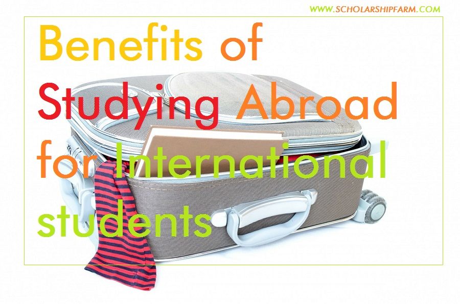 Photo of Benefits of Studying Abroad for International students