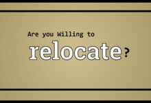 "Photo of 6 Best answers to ""Are you willing to Relocate""? Questions in an interview"